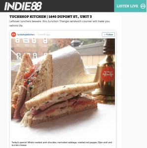 Indie 88 Must Try Restaurants 2015
